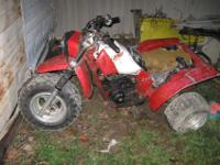 i have a 83 Honda 200x needs a little tlc and will run