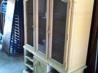 OBO - Antique China Hutch comes in 2 pieces This