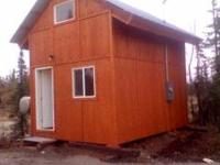 12x16 dry cabin for rent about 1 mile from the 1st