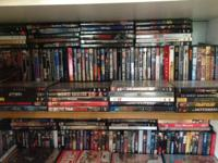 I am offering my DVD collection of 300 DVDs they all