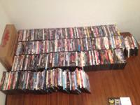 300+ DVDs $450 for all. Open to reasonable offers and
