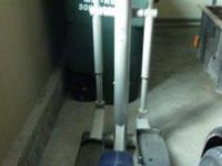 TUNTURI C6 ELLIPTICAL/CROSSTRAINER, has all the bells