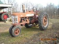 300 Farmall Narrow front, 3 point, External hydraulic,