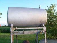 This is a 300 gallon fuel tank that can be used to