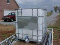 I have several-Water tank or Storage tank made of