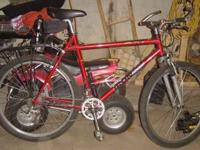 I have a nice mens size Iron Horse Mountain bike for