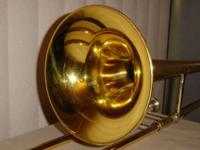 King Model 606 Straight Tenor TromboneFeatures•Key