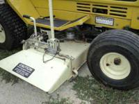 This is a very clean Sears LT8E Lawn tractor 36 in deck