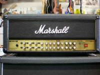 I have a 150 watt marshall avt 150h head with (a hard