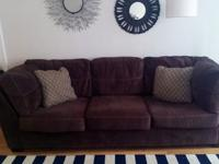 Large, modern couch purchased from Ashley