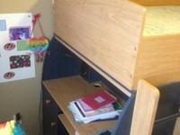 We have a Children's Bunk Bed/Desk set for sale. This