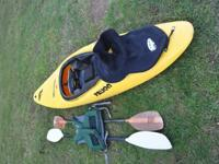 Gently used Prijon Samurai for sale - great whitewater