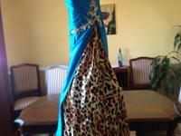 This dress is a Tony Bowls original evening dress, was