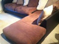 This amazingly comfortable sofa needs a new home. I am