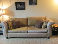 Sofa and matching chair set must go! I have new