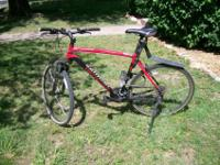 Good condition. Only used for road-riding, about 2.5