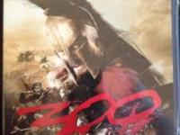 I have a brand new, never opened blu ray version of 300