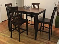 $300 Raymour U0026 Flanigan 5 Pc. Counter Height Dining Set