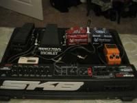 Selling an SKB Stagefive Pedal Board and all the pedals