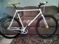 2012 state bicycle company free wheel/fixed gear has