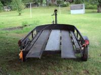 I have for sale a 4x8 utility trailer. I used it to