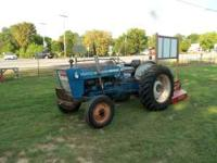 3000 Ford Tractor Deisel power steering with a new