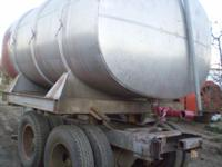 no leaks of any kind, currently used as a water wagon,