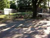 Very nice, and large lot for sale. Lot is fenced in