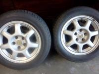 4 OEM 3000GT wheels in good condition wrapped in good