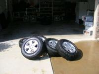 I have a set of five Jeep Wrangler Sahara wheels that I