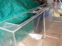 Used but in Excellent Condition. 300 gallon Acrylic