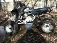 tao tao 300cc atv quad runs great, all black sport