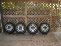 4 Brand New Tires A set of 4 used 5 lug 1986 300zx