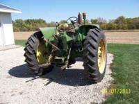 This was my Father's John Deere Tractor that he used to