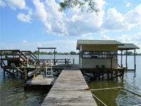 This amazing home on Lake St. John in Ferriday, LA, is