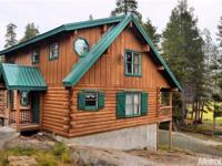 This is rare opportunity to own a log cabin at Silver