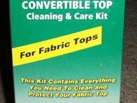 303 Convertible Top Care Kit - Fabric With this kit,