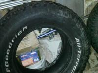 I have 4 BFGoodrich all surface tires 305/65/18. 1 has