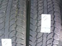 WE HAVE A GOOD PAIR OF USED 305/70R16 DAYTON TIMBERLINE