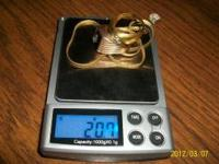 I HAVE 30.8 GRAMS OF SCRAP GOLD AND SOME GOLD FILLED