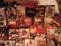 Mixture of ps2 games prefer to sell as a bundle. All
