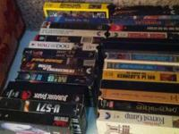 Approx 30 tapes. See picture. call or text rob