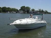 Deep Vee hull, Twin 220 Hp 1994 Mercury Alpha I 305 V8