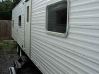 30ft Cavalier travel trailer by Gulfstream. Contains a