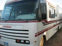 This Chevy motorhome is large on the in, sleeps 6, and