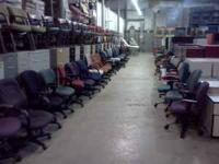 I am selling used office furniture out of a warehouse