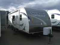 2013 HEARTLAND NORTH TRAIL 28' , WHT/BISTRO,