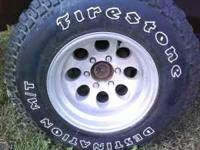 I have a set of 31/15.50/15 pacer wheels and tires that
