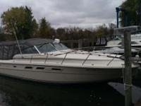 Please call owner Aaron at . Boat is in Grand Haven,