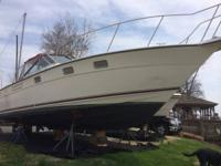 Nicely Equipped 1986 Tiara 3100 Open with twin Crusader